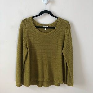 Eileen Fisher Linen Blend Knit Sweater- Size XL